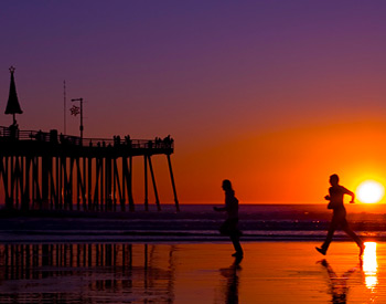 Sunset at the Pismo Beach Pier