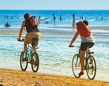 Biking near Pismo Sands Beach Club