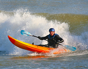 Kayaking at Pismo Sands Beach Club
